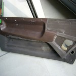 20ソアラ MZ21 グランベールインテリア張り替え作業